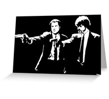 Hands Up Fiction Greeting Card
