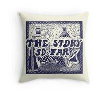 The Story So Far Self Titled  Throw Pillow