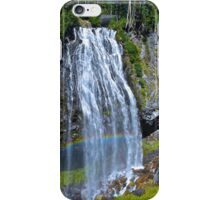 Rainbow at Narada Falls, Mt. Rainier National Park iPhone Case/Skin