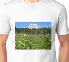 Mt. Rainier National Park Summer Wildflowers Unisex T-Shirt