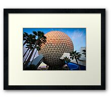 Our Spaceship Earth Framed Print