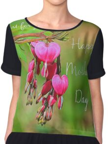 Bleeding Hearts Chiffon Top