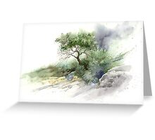 Brush Stone Study Greeting Card