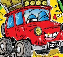 I SURVIVED the VARIETY VIC 4WD TREK 2016! Sticker