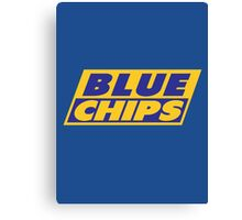 BLUE CHIPS Canvas Print