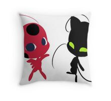 Creation and Destruction Throw Pillow