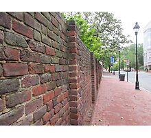 brick wall Photographic Print
