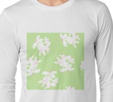Honeysuckle Bouquet in Key Lime Long Sleeve T-Shirt