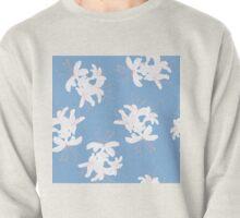 Honeysuckle Bouquet in Carolina Blue Pullover