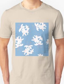 Honeysuckle Bouquet in Carolina Blue T-Shirt