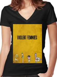 Violent Femmes - We Can Be Anything Women's Fitted V-Neck T-Shirt