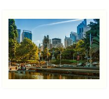 Hyde Park in the Afternoon Art Print