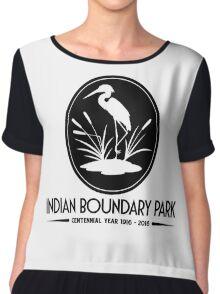 Indian Boundary Park's Centennial Year Chiffon Top