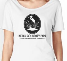 Indian Boundary Park's Centennial Year Women's Relaxed Fit T-Shirt