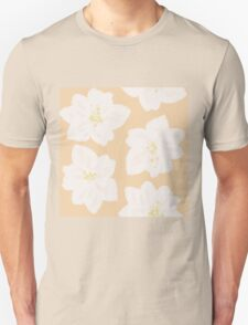 Watercolor Magnolias in Georgia Peach T-Shirt