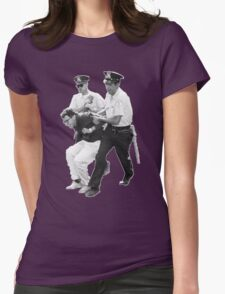 Bernie Arrested 1963 Womens Fitted T-Shirt