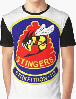VFA-113 Stingers Patch Graphic T-Shirt