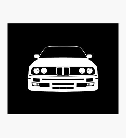 White e30 Photographic Print