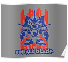 Cobalt Blade Two-Tone Poster