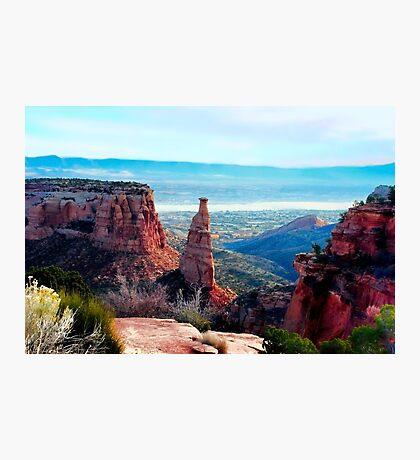 Monument Valley Overlook Photographic Print