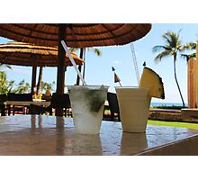 Tropical drinks  Photographic Print
