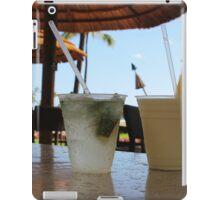 Tropical drinks  iPad Case/Skin