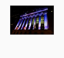 Purple New York Stock Exchange at Night - Impressions Of Manhattan Unisex T-Shirt