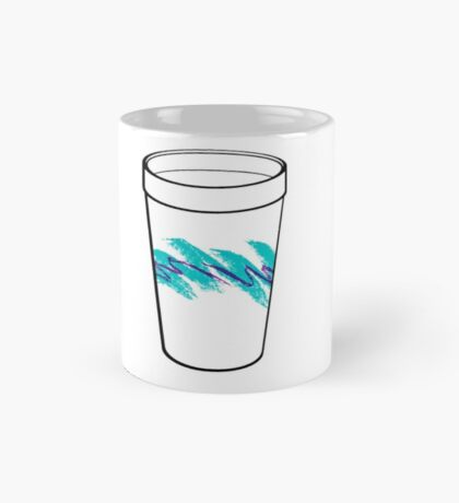 Solo Jazz Cup 90s Pattern - With Cup (white) Mug