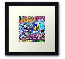 Yedi Fresh ( DJ QBERT HARD BOILED SCRAMBLED EGG #1 ) Framed Print