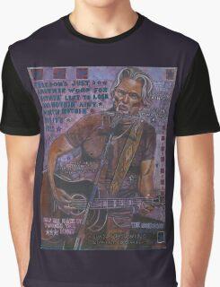 Kris Kristofferson Graphic T-Shirt