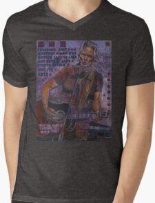 Kris Kristofferson Mens V-Neck T-Shirt