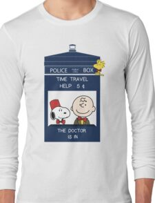 Dr Who - Charlie Brown Long Sleeve T-Shirt