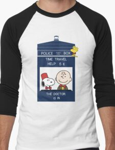 Dr Who - Charlie Brown Men's Baseball ¾ T-Shirt