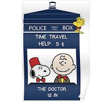 Dr Who - Charlie Brown Poster