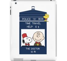 Dr Who - Charlie Brown iPad Case/Skin