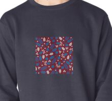 Ditsy Grains Floral Pullover