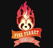 Fire Ferret T Shirt For Men And Women  Unisex T-Shirt