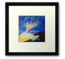 Sun Over Ocean Framed Print