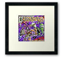 Yedi Fresh ( DJ QBERT Hard Boiled Scrambled Egg #2 ) Framed Print