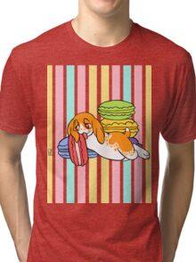 Maurice & Macarons Tri-blend T-Shirt