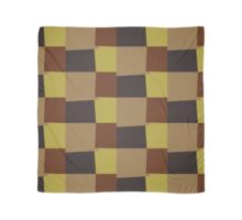 Retro Color Modern Geometric Pattern #7 Scarf