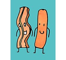 bacon & sausage Photographic Print