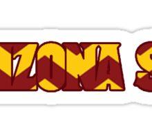 Arizona State logo Sticker
