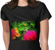 Inch Worm 1.0 Womens Fitted T-Shirt