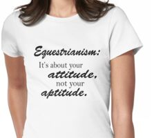 Equestrian Womens Fitted T-Shirt