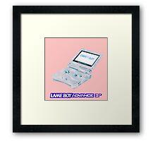 CASIOS CLAY - LAMEBOY ADVANCE EP Framed Print