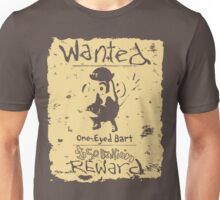 Wanted - One-Eyed Bart Unisex T-Shirt