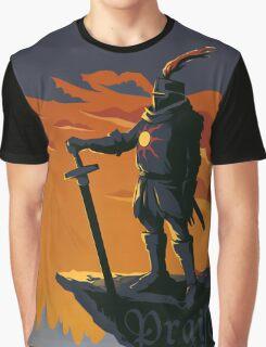 praise the sun Graphic T-Shirt