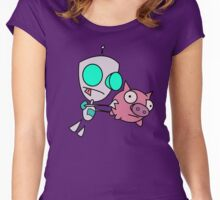 Mah Piggy Women's Fitted Scoop T-Shirt