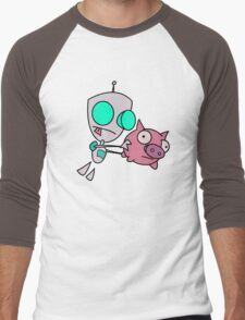 Mah Piggy Men's Baseball ¾ T-Shirt
